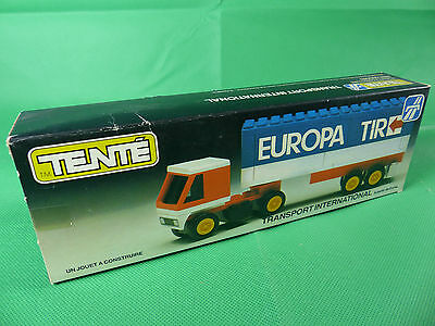 Tente Spain 590683 LKW Transport International  mint  in Box - Ladenfund  NOS