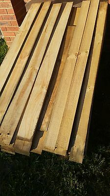 treated pine palings 1.8 m paling pickets fence X150 pickup listerfield vic