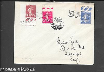 Japan Paquebot Cover 11.5.1936 Kobe/ Nippon Cds, French Adhesive-Addressed-Usa.