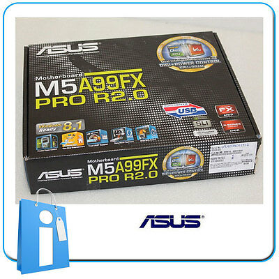 Placa base ATX ASUS M5A99FX PRO R2.0 ddr3 Socket AM3 con Accesorios