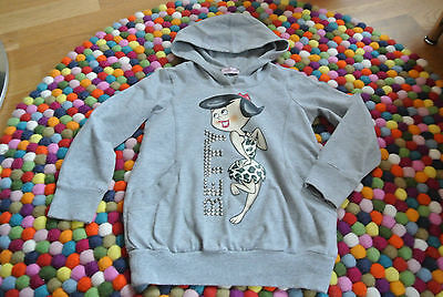 Monnalisa Betty Hoody Pulli grau Gr. 6  116