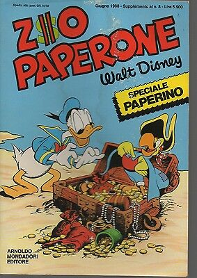 Zio Paperone Speciale Paperino N. 1 - 1988