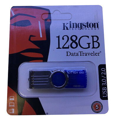Kinston 128GB Memoria USB 2.0/3.0 Flash Memory Stick Pen Drive Para PC Portátil