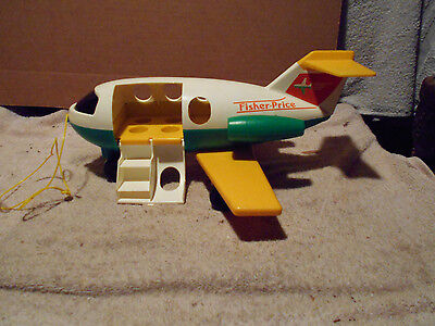 Vintage Fisher Price Little People AIR PLANE