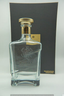 Johnnie Walker King George V Decanter with case (EMPTY BOTTLE)