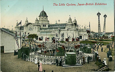 1910 Postcard The Little Cyclone Japan-British Exhibition London