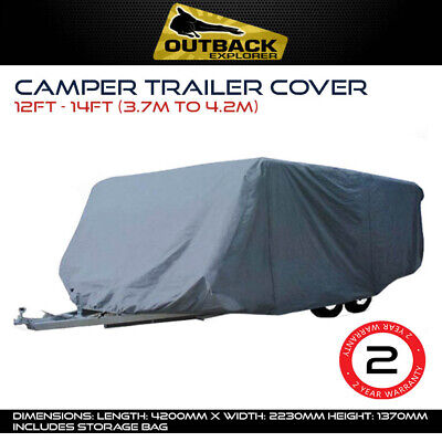 Outback Explorer 12-14 ft |3.7 - 4.2m Camper Trailer Cover Jayco Eagle Hawk Dove