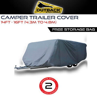 Outback Explorer Camper Trailer Cover 14-16 ft |4.3-4.7m Jayco Swan Flamingo