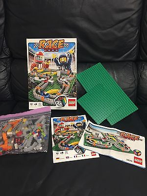 Lego Board Game RACE 3000 (#3839) Complete Set