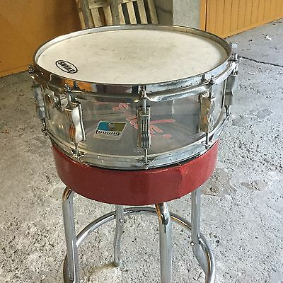 Ludwig Vistalite Snare 14x5 Clear Vintage