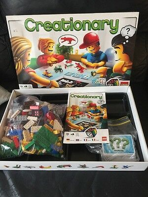 LEGO Creationary Building Board Game (#3844) Complete Set