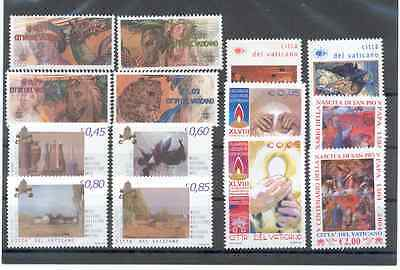 Lot of Vatican Stamps 2003 - 2004 MNH**