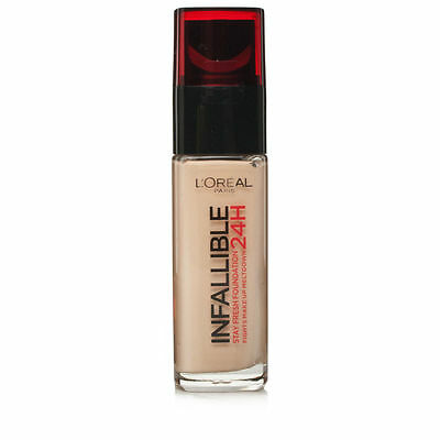 L'Oreal Infallible 24H Stay Fresh Foundation 30ml - 015 Porcelain