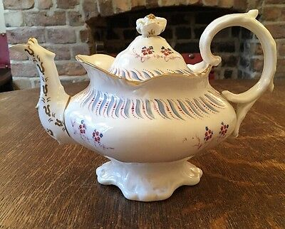 Early 19th Century Teapot In The Rococo Style- Like Coalport