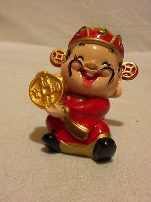 Chinese Lucky Money Statue of wealth Sculpture