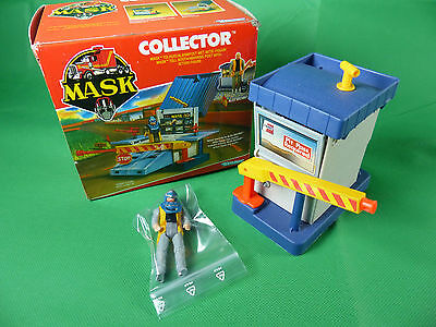 vintage Kenner MASK Collector mit Figur  in Box - 1980's Action Toy