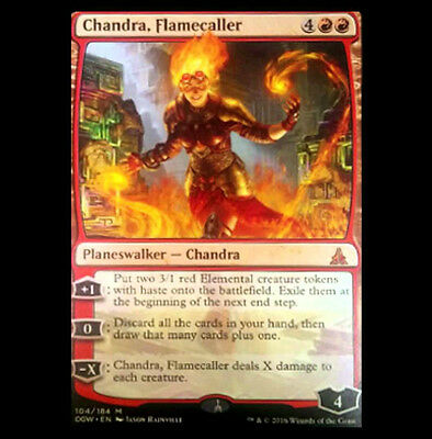 Chandra, Flamecaller - Oath of the Gatewatch - MINT!!!