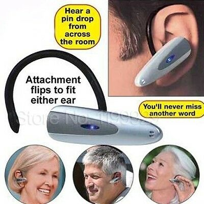 Wireless Personal Sound Amplifier Loud N And Clear Voice Hearing Aid Compact