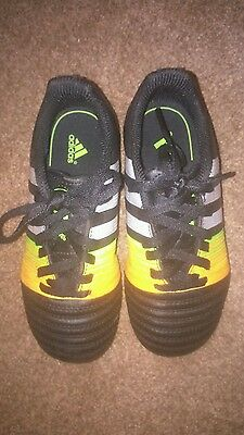 adidas kids football trainers size 12 - excellent condition