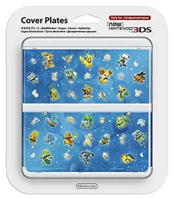 Accessories - Nintendo 3DS-New 3Ds Cover Plate 30 Pokemon Smd  AC NEW