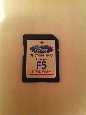 Ford sat nav 2016 SD card - F5 Europe - Latest upto date