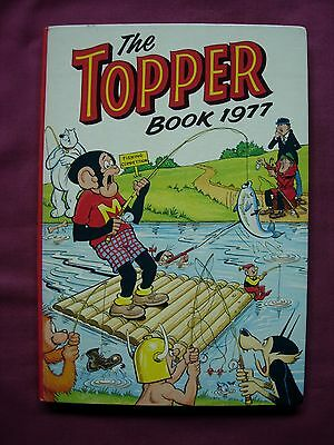 The Topper Book 1977 Annual Unclipped D.C. Thomson VFN