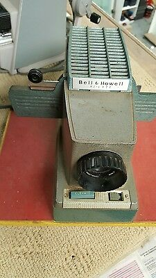 bell and howell  slide projector.