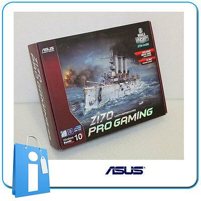 Placa base ATX ASUS Z170 PRO GAMING Socket 1151 con Accesorios