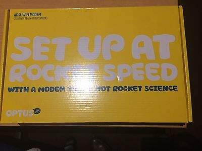 Sagemcom Optus Adsl2+ Wireless Modem Router Brand New