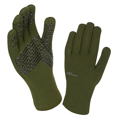 Sealskinz Ultra Grip Waterproof Gloves Olive