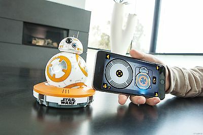 BB-8 by Sphero Star Wars The Force Awakens droid smartphone controlled toy