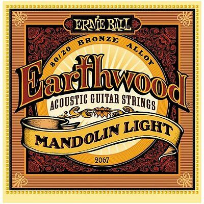 Ernie Ball Earthwood 80/20 Bronze Mandolin Strings - Light