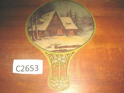 DOWD'S VARIETY STORE ADVERTISING CARDBOARD FAN     [C2654o]