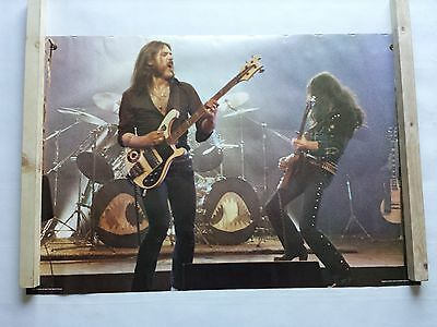Motorhead Poster Large Vintage 1980 Pace 78.p3232 Was Unopened