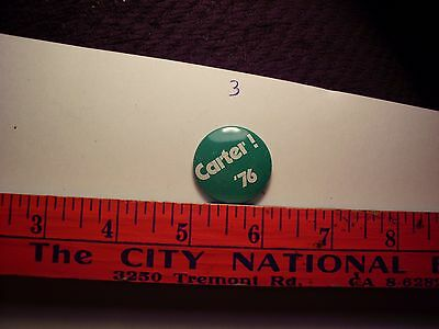 Carter Mondale '76 Pin Collectors Collectible Political Campaign Advertisement a