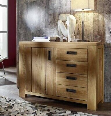 sideboard anrichte 200cm mango massiv vintage eisen lackiert holz neu ovp eur 729 00. Black Bedroom Furniture Sets. Home Design Ideas