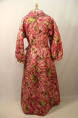 1950s Padded Robe by Fortnum and Masons.