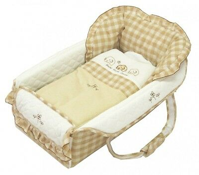 Baby Portable Foldable Bed Sleeping Nap Bag Elephant from Japan New!