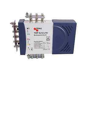 Triax LTE TMP 5 x 12 Mains Powered Multiswitch - 305373