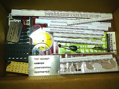 Assorted Drafting Tools & Supply Lot~50 items Plus