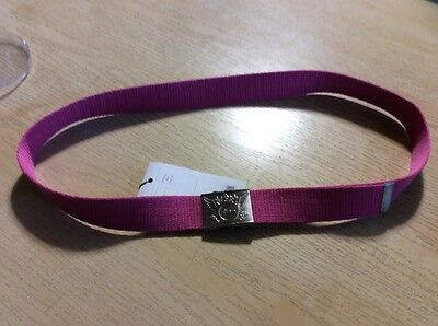 Daily Sports Ladies Fabric Belt In Pink.  One Size Fits All Up To 120 Cm