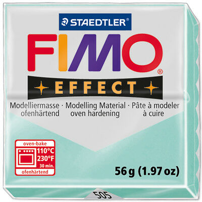 Fimo Effect Polymer Clay 2oz Mint EF8020-505J
