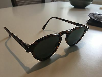 Vintage Ray Ban Sunglasses Gatsby Style 7 W1519 Tortoise Brown Shades