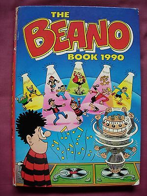 Beano Book Annual 1990 Unclipped D.C. Thomson GD/VGC