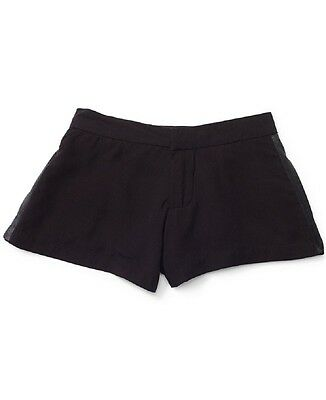 RALPH LAUREN Little Girls' Double Satin Striped Fully Lined Shorts RRP £49.50