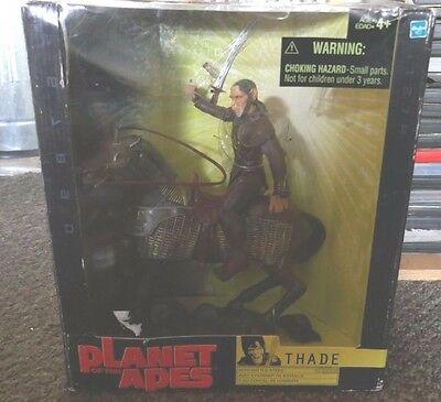 PLANET OF THE APES Thade UNOPENED BOXED Collectors Action FIGURE 2001 Hasbro