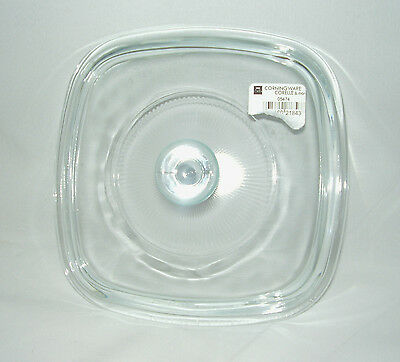 """New 7"""" Pyrex Glass Corning Ware 1 qt  Replacement Lid A7C or P7C (low shipping)"""