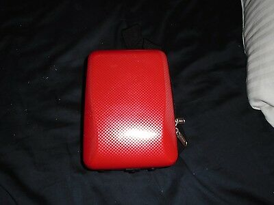 Small Red Case Hard Shell