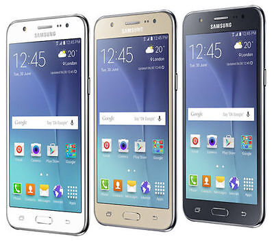 "Original Unlocked SAMSUNG Galaxy J5 Duos J500F  4G LTE Android 5"" SmartPhone"