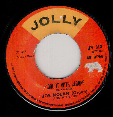 Joe Nolan - Cool It With Reggae / Reggae With Me - Jolly